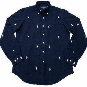 Polo Ralph Lauren Logo Horse Button Down Shirt